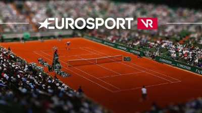 Application Eurosport VR : Roland Garros à 360°