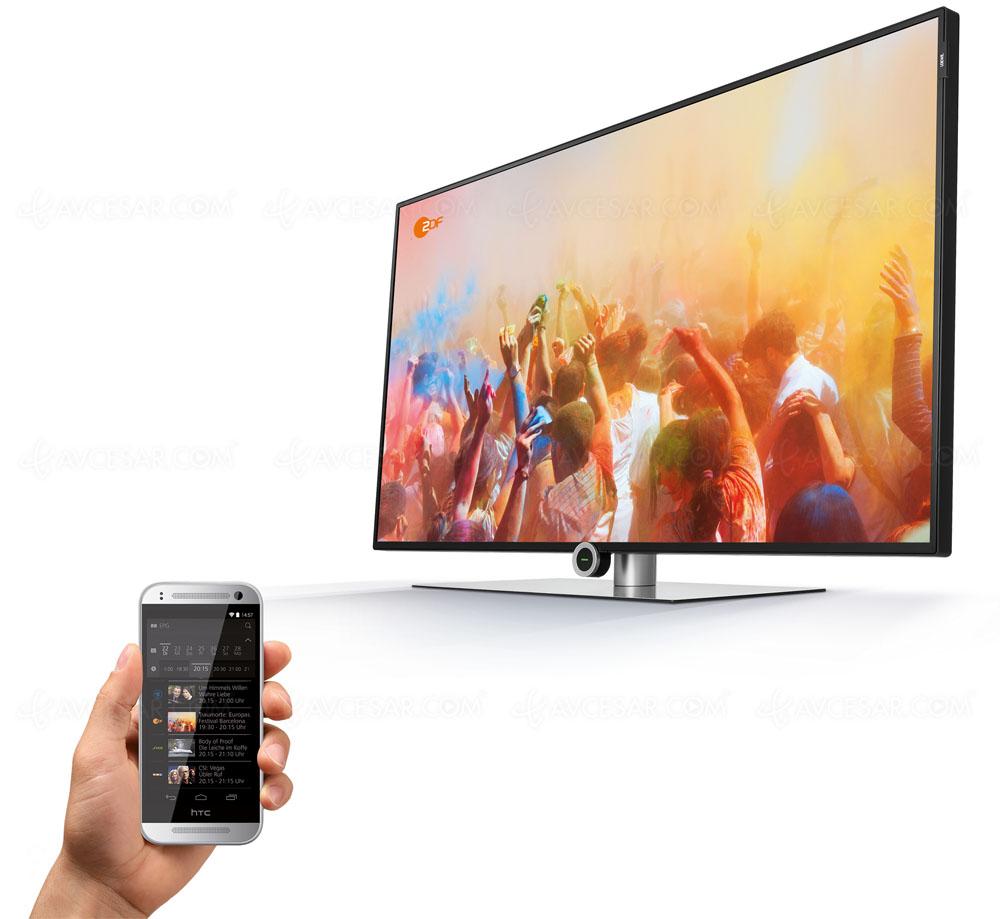 tv led ultra hd loewe one 40 mise jour r f rences et. Black Bedroom Furniture Sets. Home Design Ideas