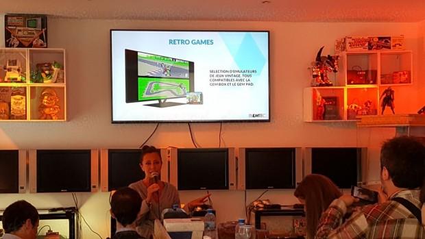 Emtec Gem Box : Box TV Android/console de jeu