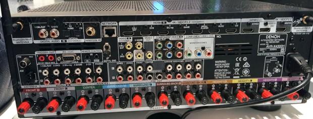 Denon AVR-X4300H, Dolby Atmos 5.1.4 et DTS:X 9.1
