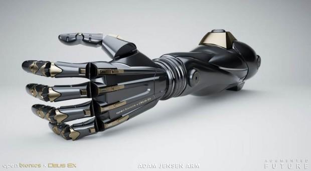 Prothèse bionique Deus Ex, la réalité dépasse la science-fiction