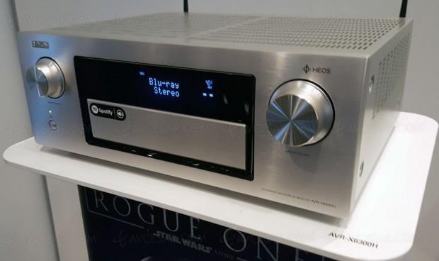 Denon AVR-X6300H, amplificateur 11.2 et multiroom Heos