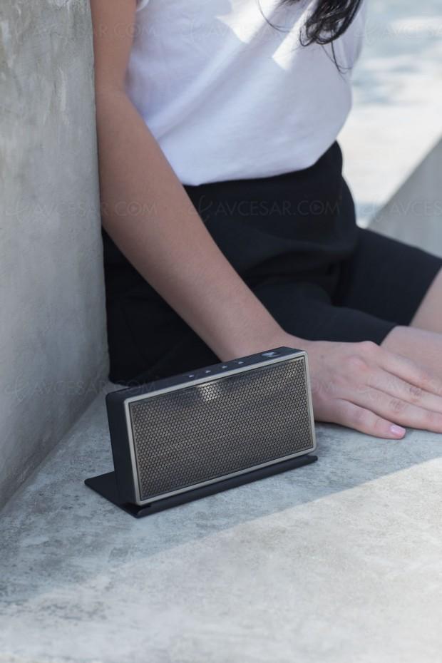 Onkyo T3, une enceinte nomade Bluetooth design : la même mais plus puissante