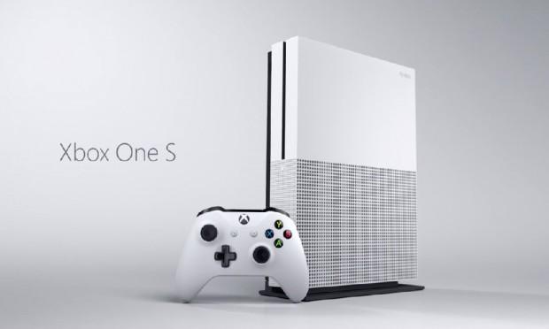 Désirable Xbox One S, avec lecteur Ultra HD Blu-Ray intégré