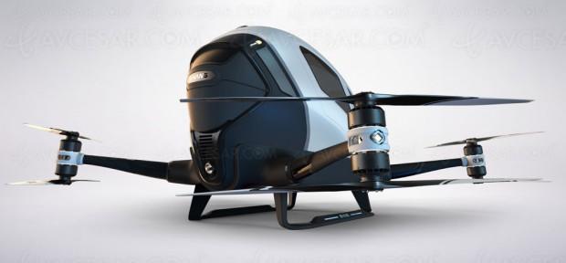 Transport de personnes par drone aérien, en test au Nevada