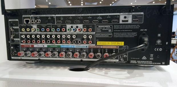 Marantz SR5011 : 7.2, Dolby Atmos 5.1.2 et DTS:X 7.1