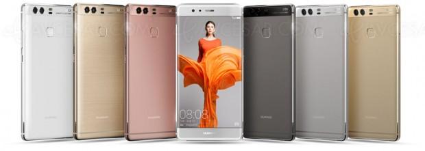 Huawei troisième mondial grâce aux P9 et P9Plus