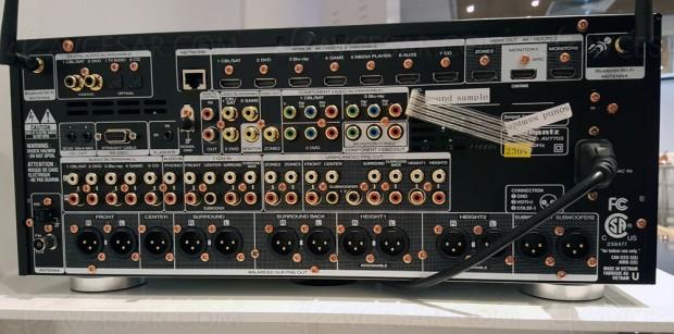 Marantz AV7703, pré-amplificateur 11.2 et multiroom Heos