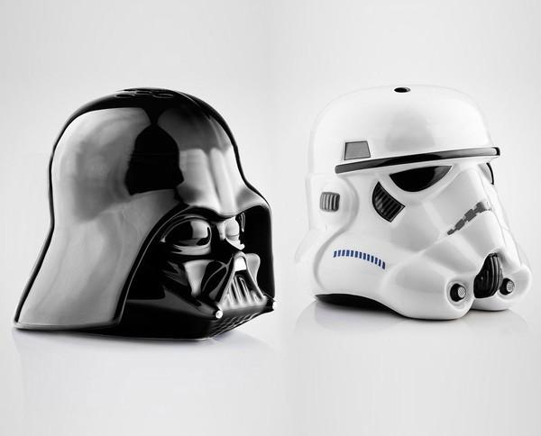Salière et poivrier Star Wars, la Forces'épice