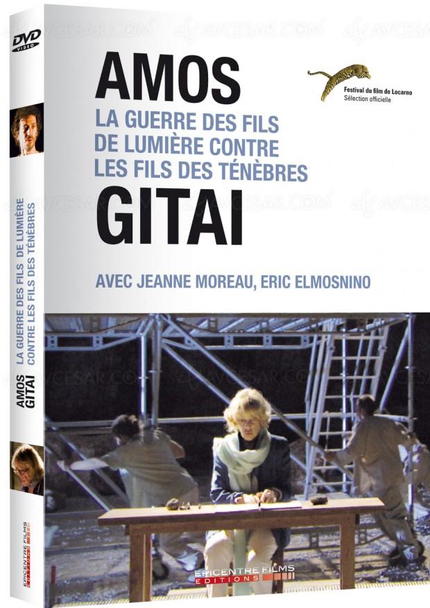 Jeanne Moreau et Éric Elmosnino sur lesplanches