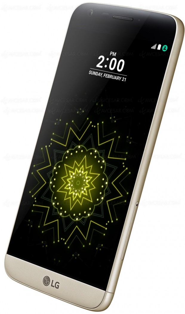 Test du smartphone LG G5, nouveau porte‑étendard de lamarque