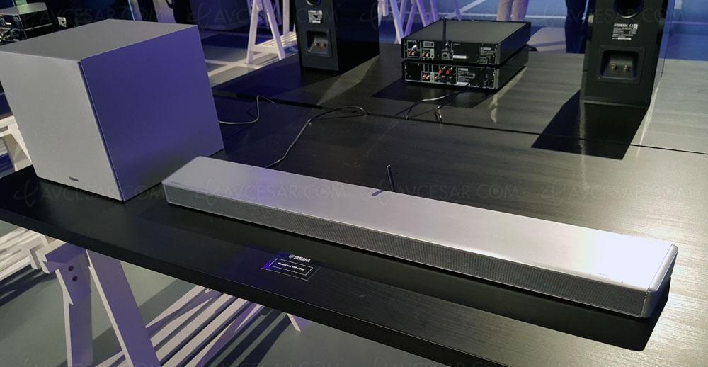yamaha ysp 2700 barre de son projecteur sonore 7 1. Black Bedroom Furniture Sets. Home Design Ideas