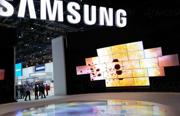 Samsung fait une demande de dépôt de marque QLED TV auxUSA