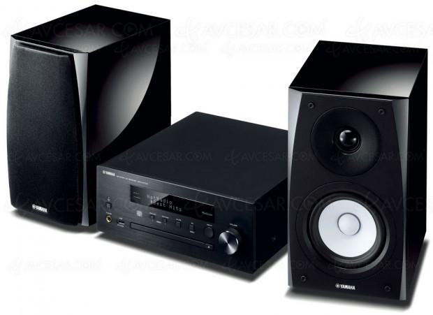 Yamaha MCR-N570D, mini-chaîne design et MusicCast