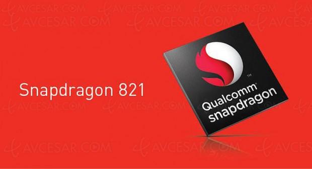Nouveau processeur « intérimaire » QualcommSnapdragon821
