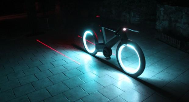 Cyclotron, vélo futuriste sansrayons
