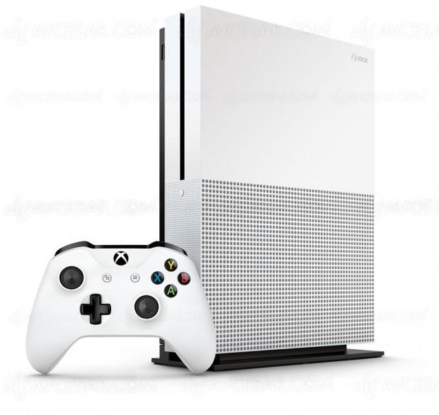 Xbox One S avec lecteur Ultra HD Blu-Ray, sortie le 2août