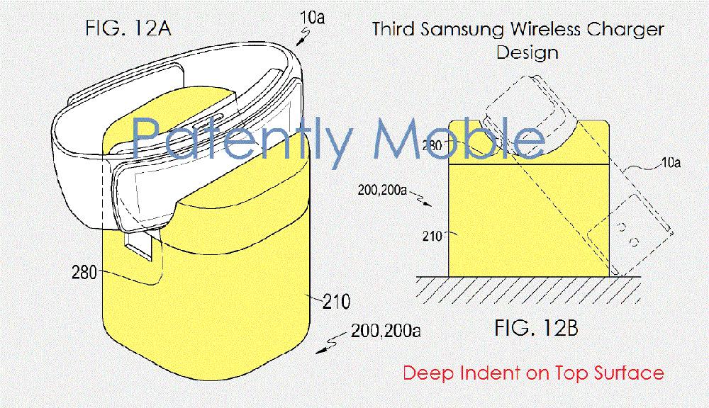 chargeur pour deux appareils simultan s brevet samsung. Black Bedroom Furniture Sets. Home Design Ideas