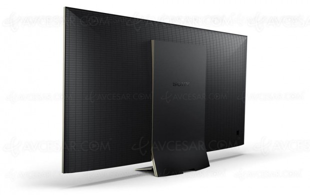 TV LED Ultra HD Sony ZD9, mise à jour spécifications