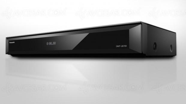IFA 16 > Panasonic DMP-UB700, nouvelle platine UltraHDBlu‑Ray