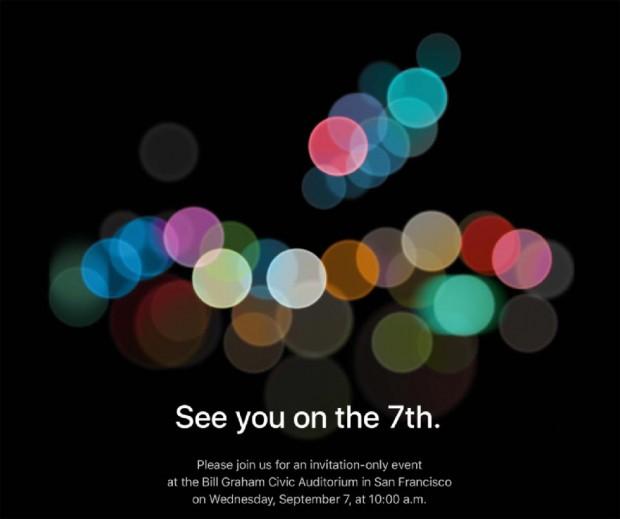 Conférence Apple officiellement annoncée le7septembre