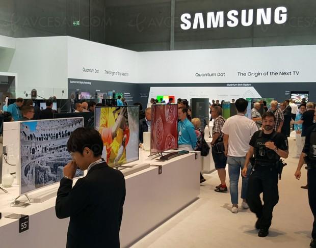 IFA 16 > Samsung dit non aux TV Oled, oui à la technologie Quantum Dots