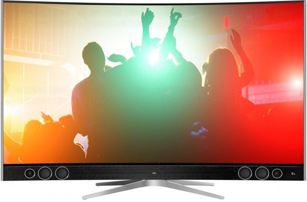 IFA 16 > TV Ultra HD TCL Xclusive X1 S99, Quantum Dots mais pas Dolby Vision en Europe