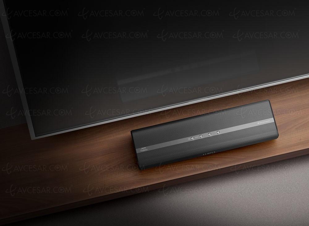 ifa 16 philips fidelio mini b1 nouvelle barre de son ultra compacte. Black Bedroom Furniture Sets. Home Design Ideas