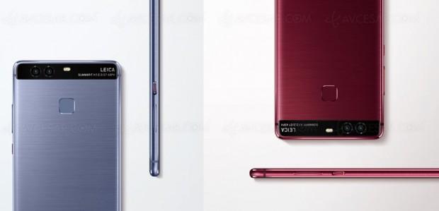 IFA 16 > Nouveaux coloris pour le Huawei P9, Profond et Bleu Pastel