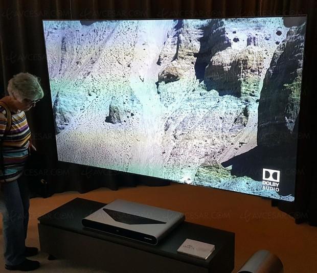 ifa 16 tcl 4k laser tv vid oprojecteur laser courte focale. Black Bedroom Furniture Sets. Home Design Ideas