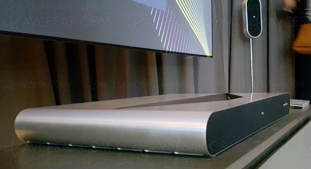 IFA 16 > TCL 4K Laser TV, vidéoprojecteur laser courte focale