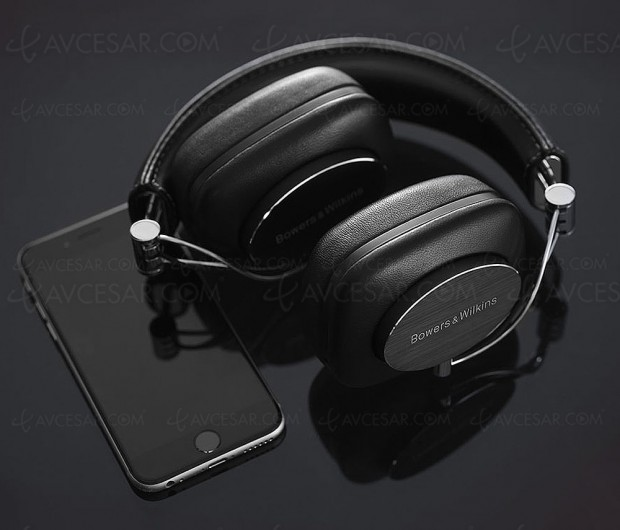 Casque Bowers & Wilkins P7 Wireless, évolution sans‑fil