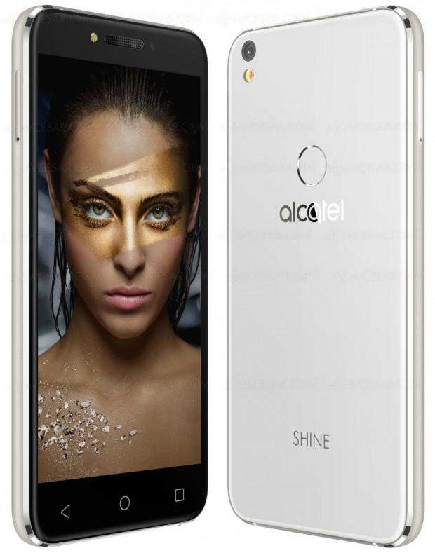 IFA 16 > Smartphone Alcatel Shine Lite, capteur d'empreinte et beauxselfies