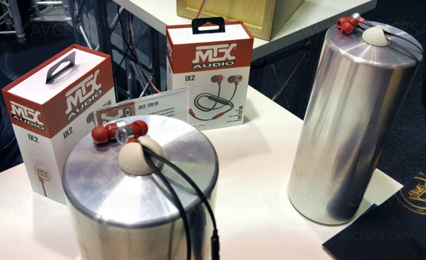 IFA 16 > MTX Audio iX2 2016, casque intra‑auriculaire épatant !