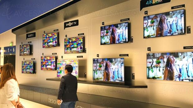 IFA 16 > TV LED Ultra HD Haier V800S, cinq modèles annoncés