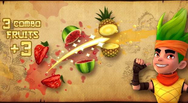 Jeu mobile Fruit Ninja adapté au cinéma