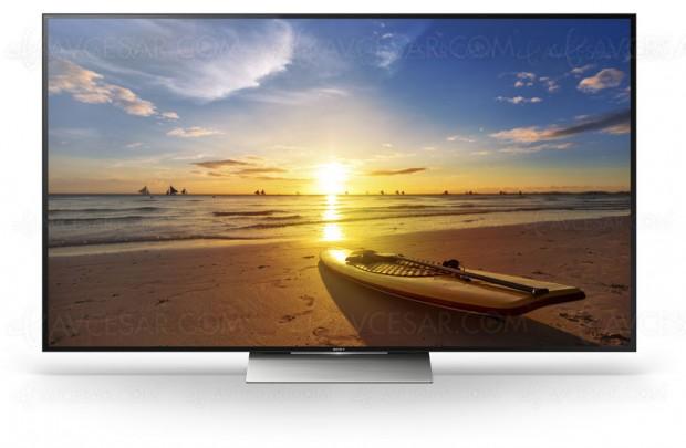 Test TV UHD Sony KD-75XD9405, en ligne