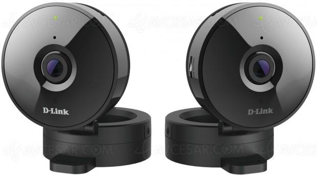Caméra HD Wi-Fi D-Link DCS-936L avec enregistrementvidéo