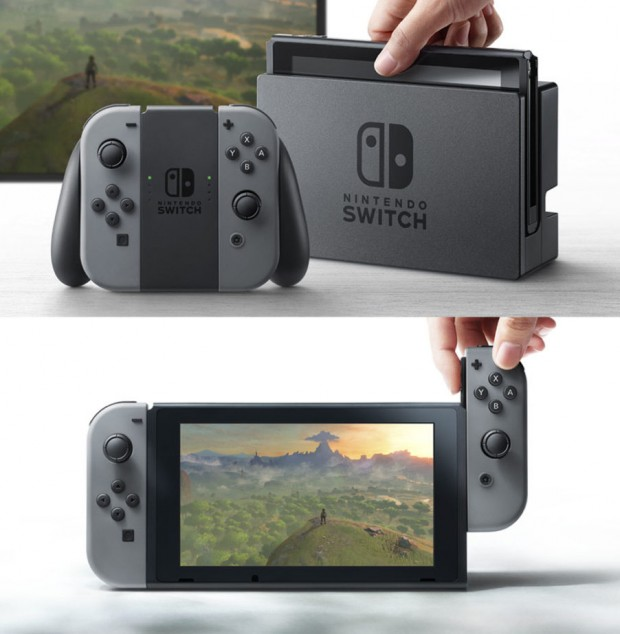 Officiel, voici la Nintendo Switch (bande‑annonce)