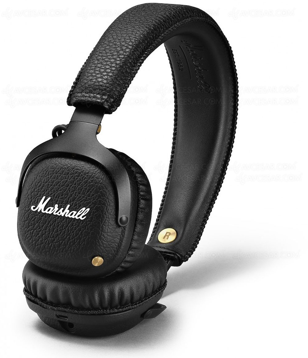casque marshall headpones mid bluetooth. Black Bedroom Furniture Sets. Home Design Ideas