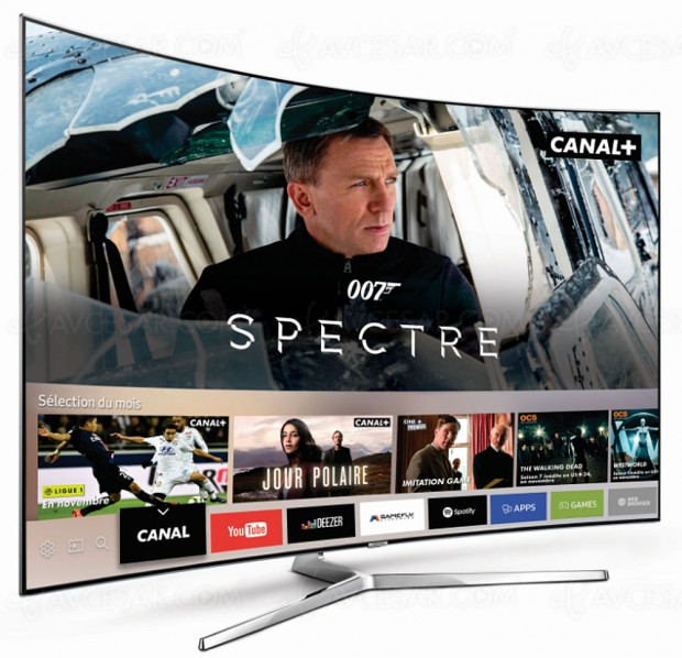 Offre Canal/Samsung Smart TV