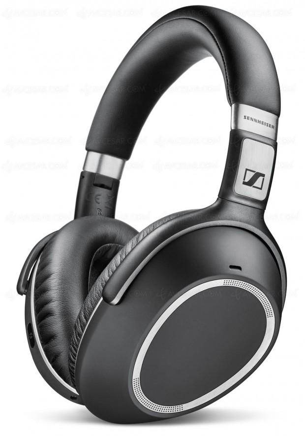 Sennheiser PXC 550 Wireless, casque Bluetooth avec réduction de bruitadaptative