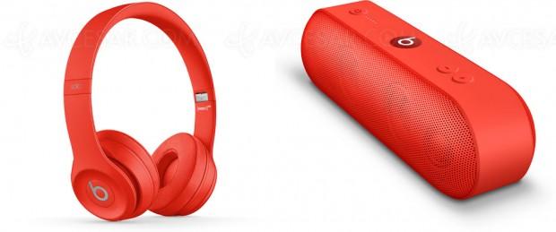 Rouge citron pour les Beats Red Solo3 Wireless etPill+