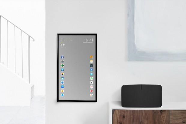 Apple Mirror, iOS 10 sur miroir