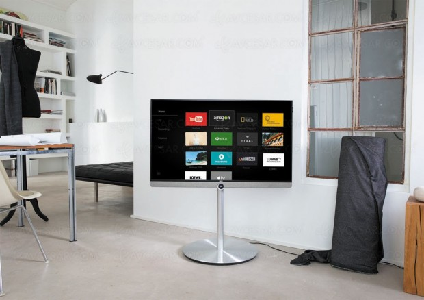 TV LED Loewe Bild 3, nouveau design et nouvellediagonale