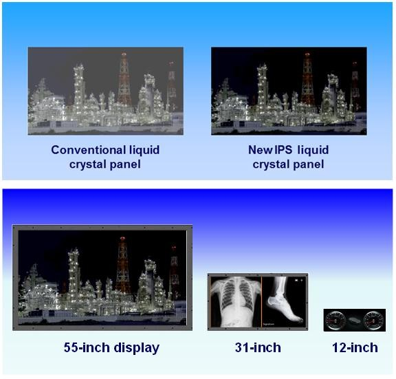 Panasonic multiplie le contraste des panneaux LCD par600!