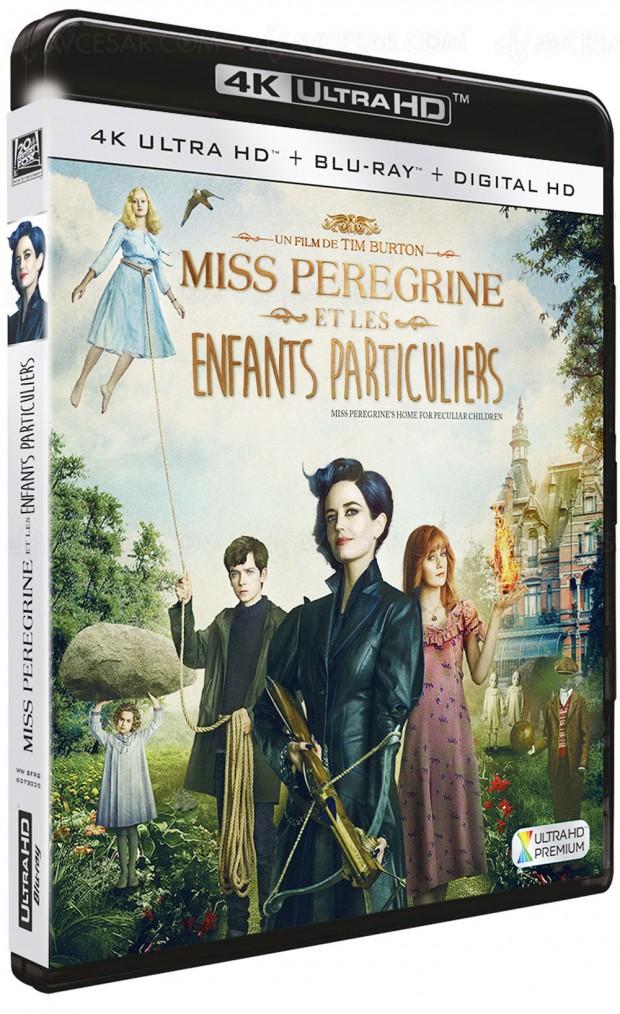 Miss Peregrine et les enfants particuliers, aventures burtonniennes pour petits et grands