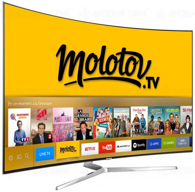 Molotov explose sur Samsung SmartTV