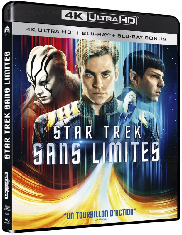 Star Trek 4K Dolby Atmos et le plein debonus