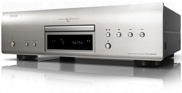 Denon DCD-1600NE, lecteur SACD d'exception